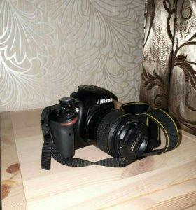 Зеркальный фотоаппарат Nikon D3200 18-55mm