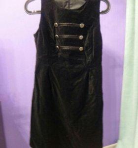 Замшевое платье Befree