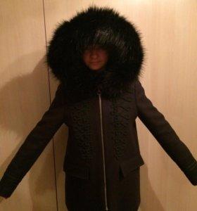 Осеннее пальто Зара новое