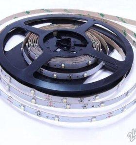 Светодиодная лента smd 5050 RGB открытого типа 5 м