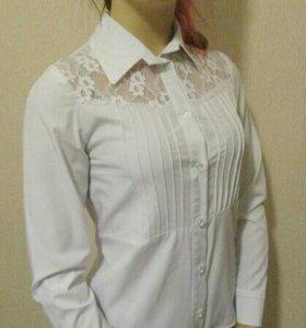 Школьная рубашка для девочки