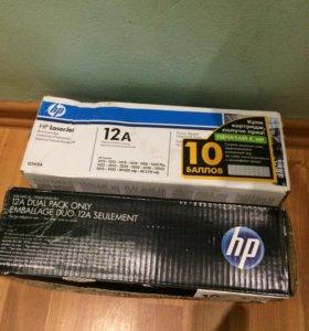 Картриджи А12 для принтера HP