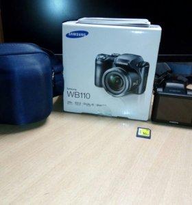 Фотоаппарат Samsung WB110 в отличном состоянии