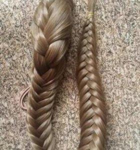 Шиньон коса