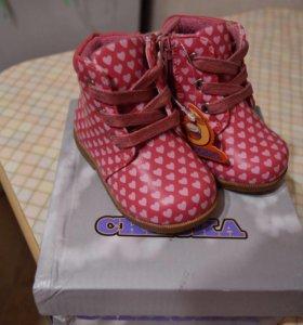 Новые ботиночки для девочки (осень-весна)