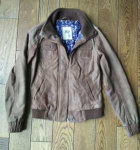 Куртка укороченная натуральная кожа