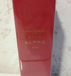 Парфюмерная вода ALPHA Avon