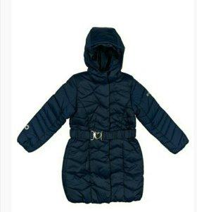 Утепленное пальто демисезон новое Scool.