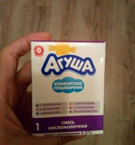 кисломолочная смесь агуша 2