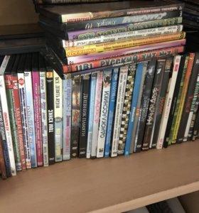 Видео диски почти 100 шт.!!!