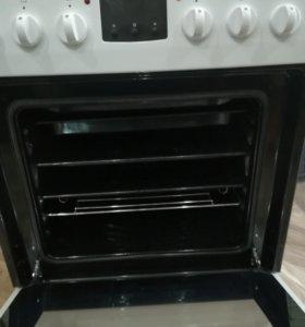 Электрическая плита hansa с духовкой