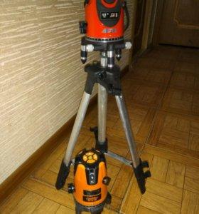 Лазерный уровень ASZ 5 лучей, 360 градусов
