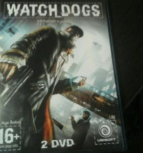 Диск WATCH DOGS 1 часть