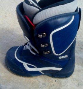 Ботинки для сноуборда 38-39р.