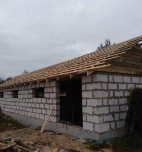 Строительные работы строим Крыши