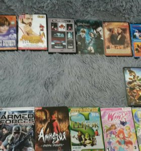 DVD диски, мультфильмы для детей, фильмы, игры