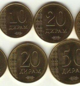 Монеты Таджикистана