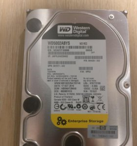 HDD WD RE 3 500Gb