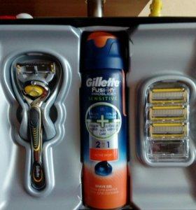 Безопасная бритва Gillette Fusion Proshield