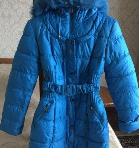Куртка-пальто зимняя, размер 42