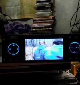 Авторесивер JVC DVD плейер