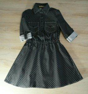 Джинсовое платье + юбка