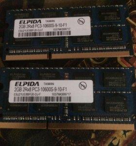 Оперативная память для ноутбука ddr3 1333 MHz