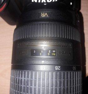 Nikon D3200 с увеличенным обьективом 18-300мм