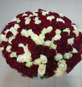 Цветы, букеты, букеты из 51,101 розы.