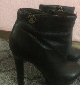 Ботинки ботильоны чёрные