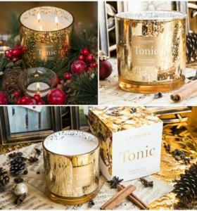 Clarins Ароматизированная свеча Tonic.