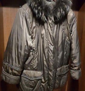 Куртка зимняя р-р 52-54