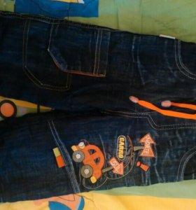 Брюки комбинезон джинсы