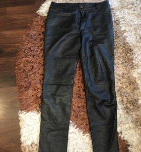 Кожаные брюки 44 рр