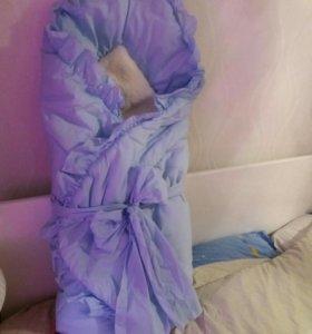 Конверт-одеяло зима
