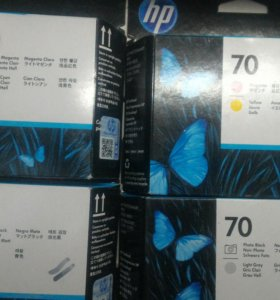 Картриджи HP C9404A, C9405A, C9406A, C9407A