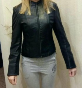 Куртка натуральная кожа размер 42-44