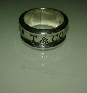 Кольцо под тиффани серебро