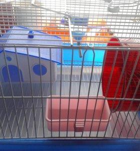 Клетка для грызунов в комплекте