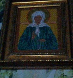 Продам икону Матронушки