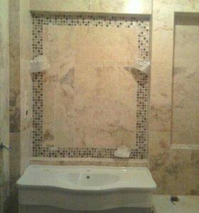 Ремонт ванных комнат и санузла под ключ.