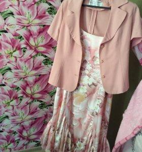 Костюм ( платье пиджак)