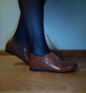 Полу ботинки на 36р