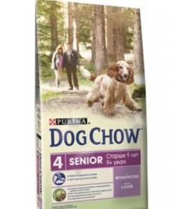 Сухой корм DOG chow для собак старше 9 лет, Анапа