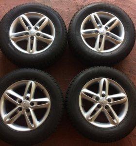 Новые колёса санг енг акцион