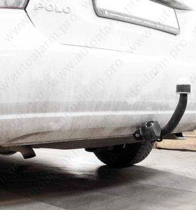 Фаркоп фольксваген Поло седан, (VW Polo sedan)