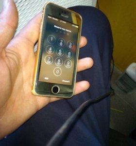 iPhone 5 16 gb gold