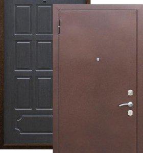 Метал. дверь VD-04 (венге) (70мм)