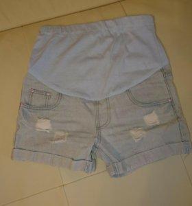 Шорты джинсовые для беременных 🤰 р. 42-44