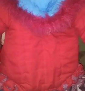 Куртка зимняя на 116